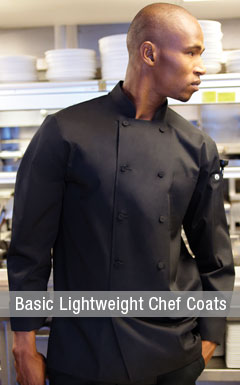 Lightweight Chef Coats