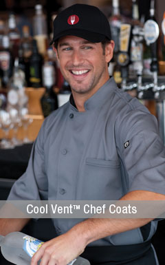 Cool Vent Chef Coats