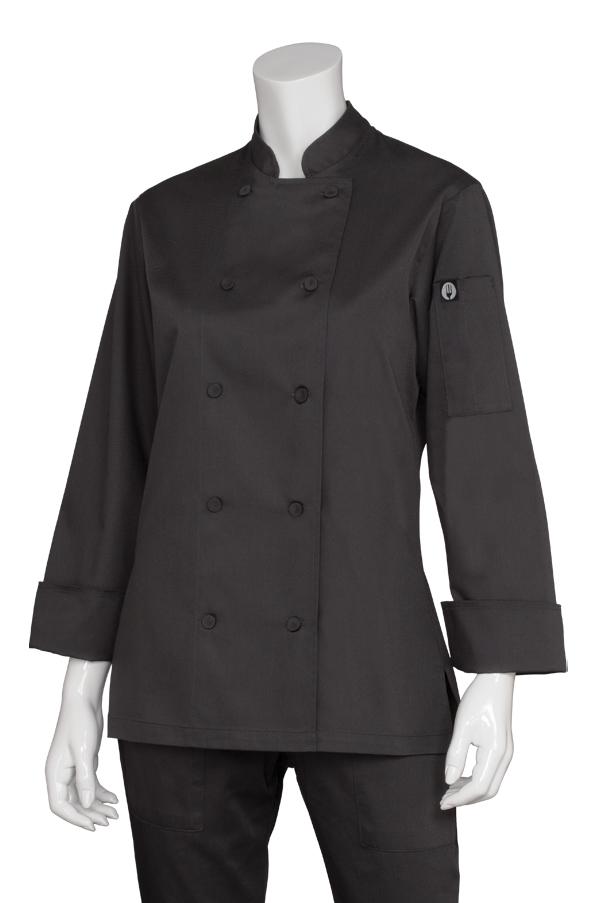 Chef Works Womens Marbella Chef Coat CWLJ