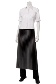 Chalk Striped Bistro Aprons
