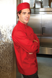 Nantes Red Chef Coat
