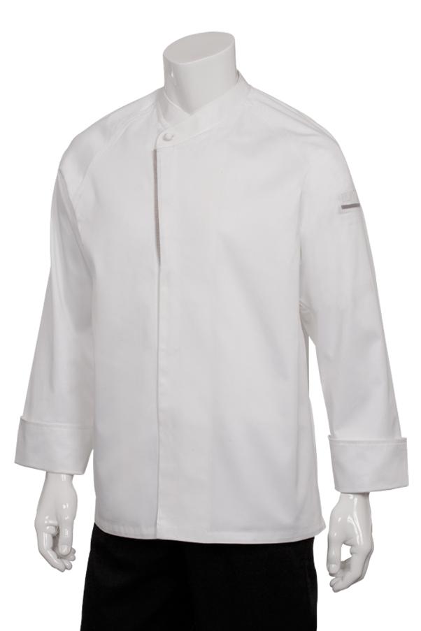 Chef Works Mens Trieste Premium Cotton Chef Coat
