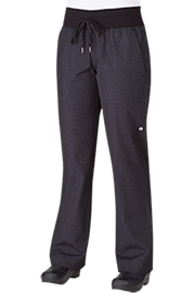 Womens Comfi Pants: Fine Stripe