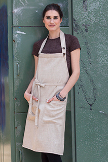 Soho Bib Apron - side view
